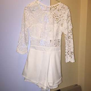 Lace Top Playsuti