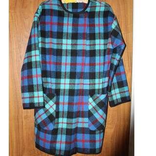 ASOS womens wollen coat size 8, 10, 12