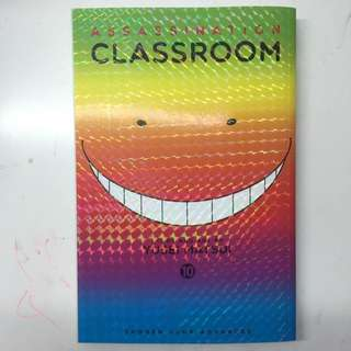 Assassination Classroom Vol.10 Anime Manga