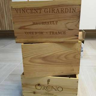 Wooden Wine Crates For Rental
