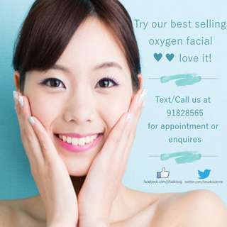 Oxygen Deep Cleansing Facial Treatment / Beauty Service in Jurong by J Studios