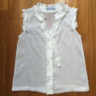 Gingersnaps White Blouse For Teens