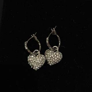 Leona Edmiston Stirling Silver And Cubic Zirconia Earrings