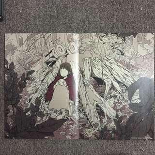 Hasya Illustration Poster Anime Manga