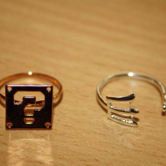 2 Beautiful Rings