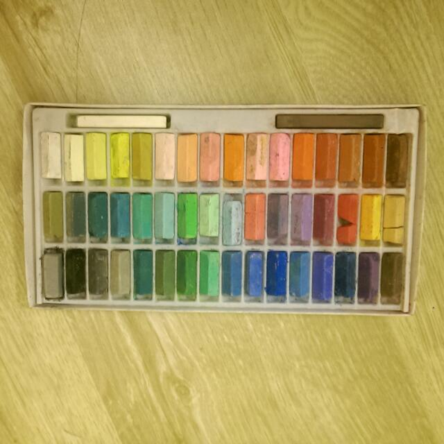 48色粉彩筆