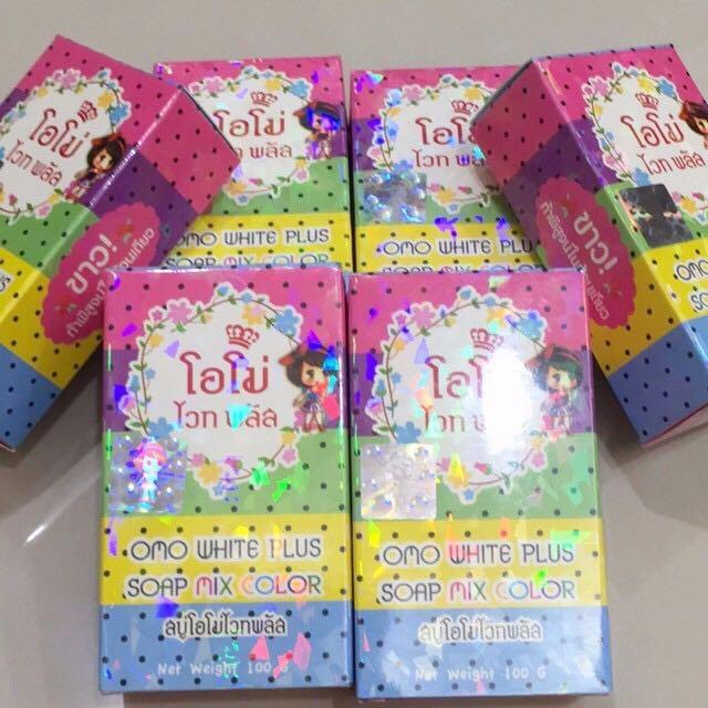 泰國天然神奇美白彩虹皂。現貨