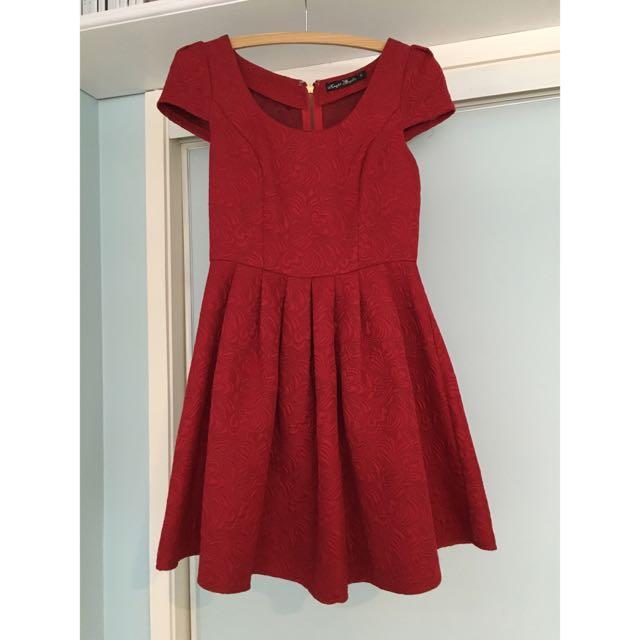 Ally Red Dress