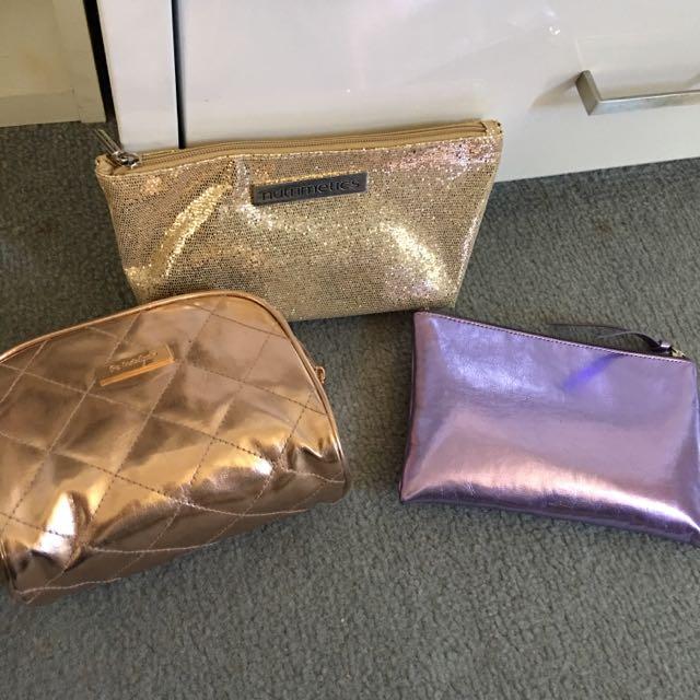 Assorted Makeup Bags