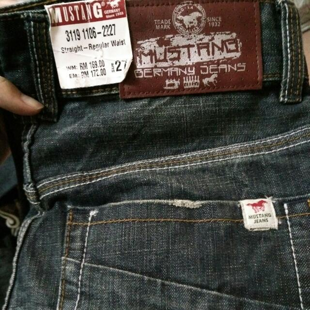 Authentic Mustang jeans a9f02a3ce2
