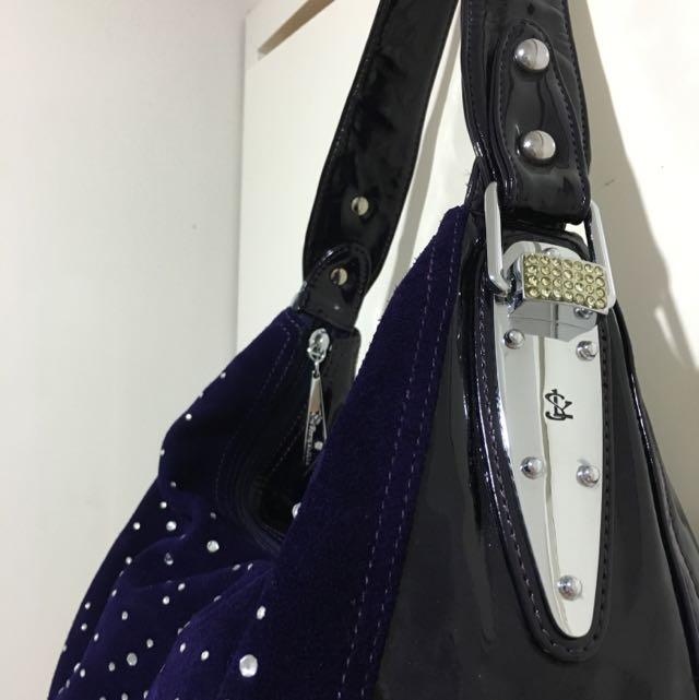 Giorgio Ferrilli Bag Medium Size Suede