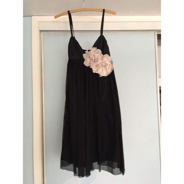 Bardot Flower Dress