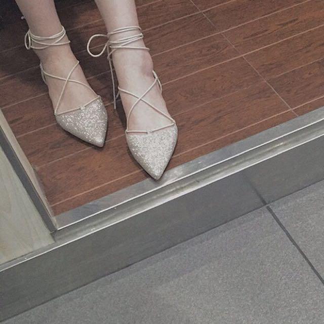 ✨Bling款尖頭平底鞋✨