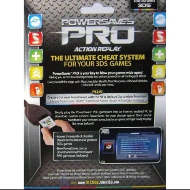 Brand New Powersaves Pro Action Replay! For 3DS Games!, Toys