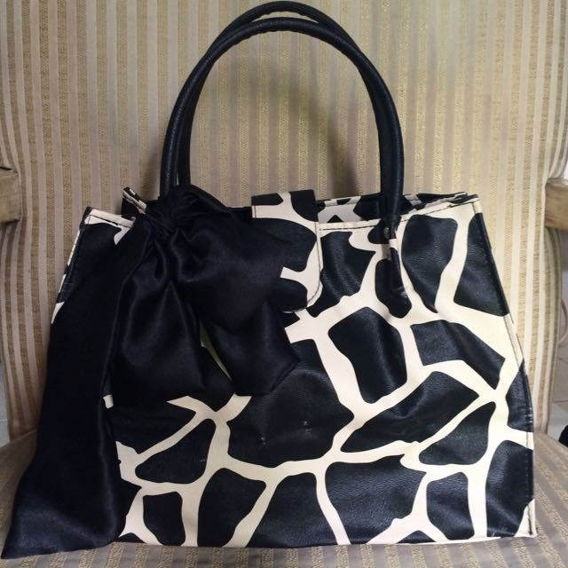 Cow Patterned Handbag