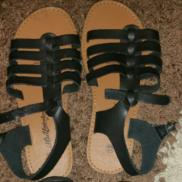 Flats, Thongs, Sandals, Slippers & School Shoes