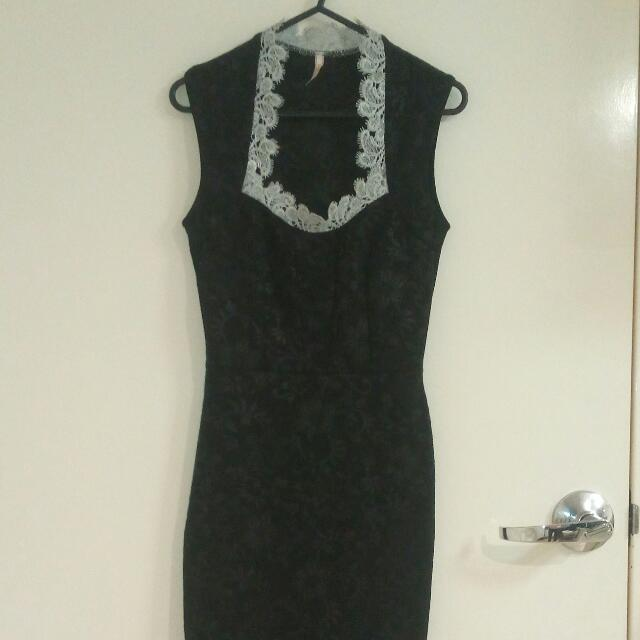 Gorgeous Little Black Dress XS