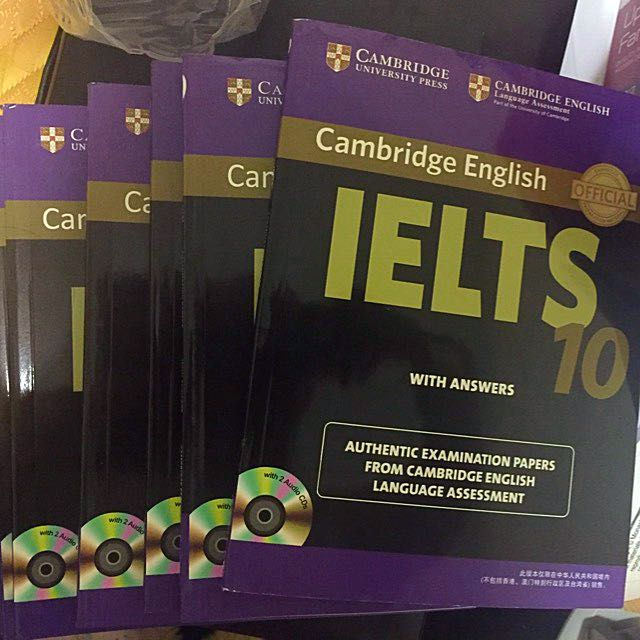 IELTS Books 1-10 With CD of Audios