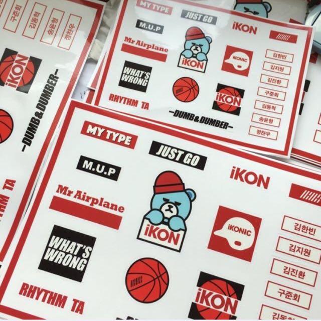 iKON Sticker / iKON 贴纸