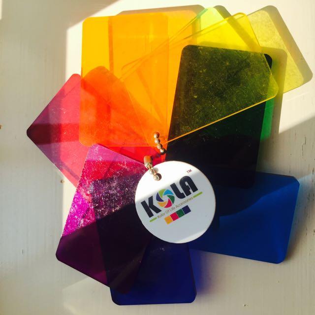 義賣-幫助毛孩子-KOLA-七彩色相機濾鏡-彩色膠片