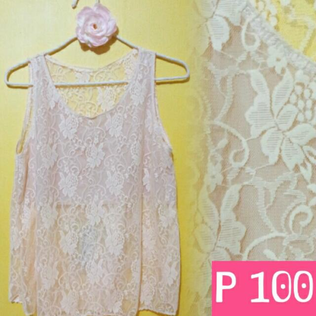 Lace Sleeveless