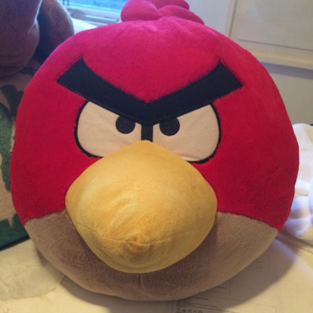 Large Angry Bird Toy