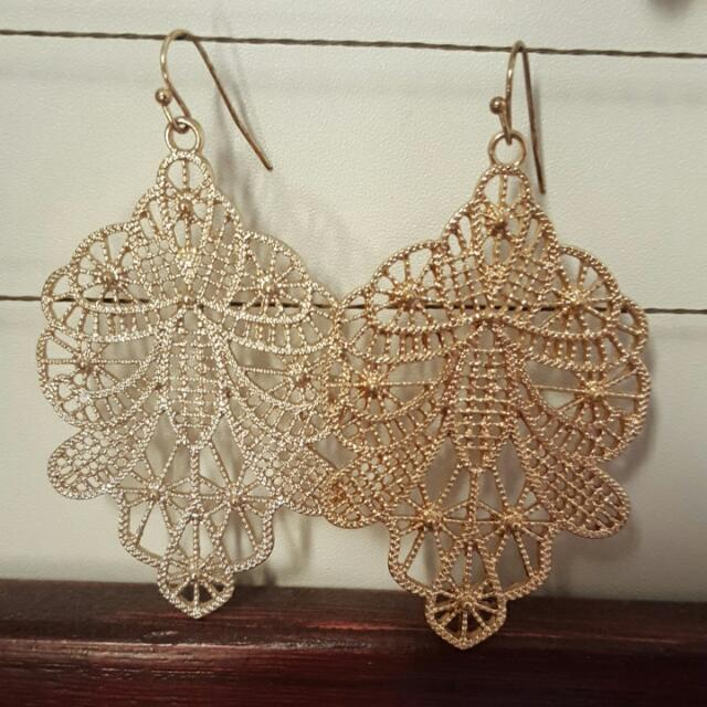Large Dangly Earrings