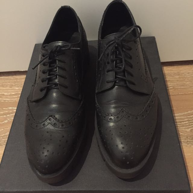 Mi Piaci Leather Brogue
