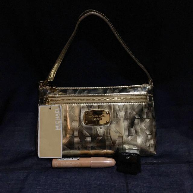 Michael Kors Bag Gold