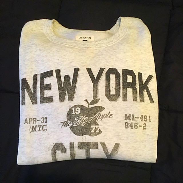 New York Crew Fleece Jumper