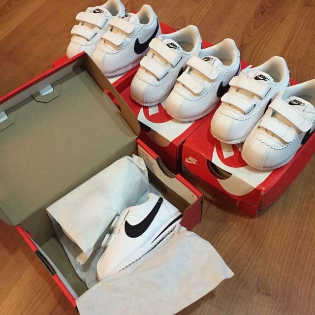 Nike Cortez 阿甘鞋 小童鞋 11cm 12cm 魔鬼氈 台灣未發售