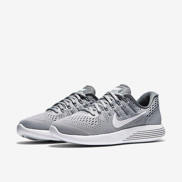 c61ba1ae963b Nike Lunarglide 8 (Women) - Wolf Grey Cool Grey White
