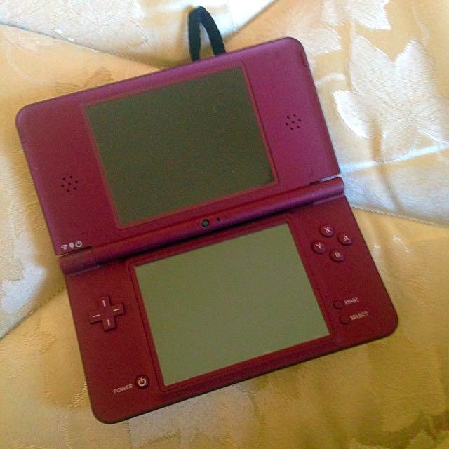 Nintendo DSi XL Red #INSPECTORGADGET