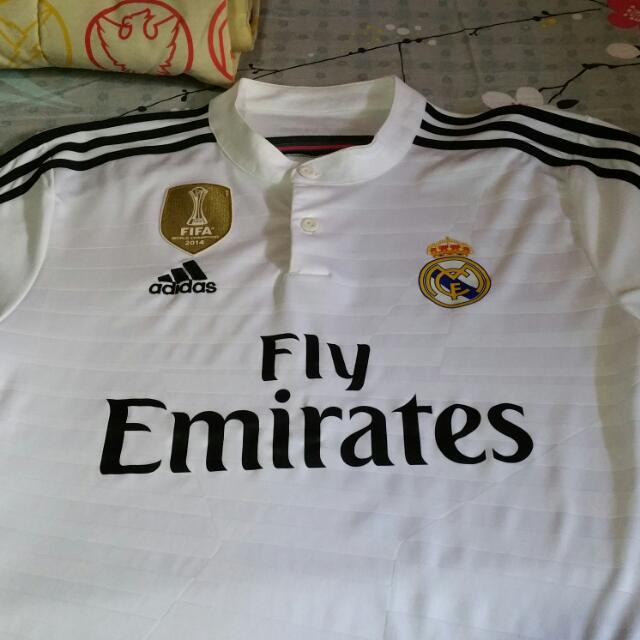 3a15b1d5c Original Adidas Real Madrid 14 15 Home Kit UCL version