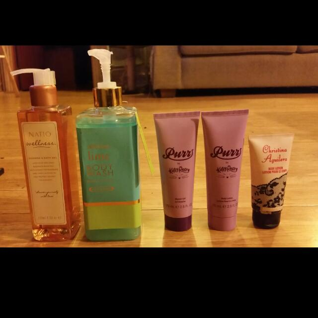 Lotions and gels 😊