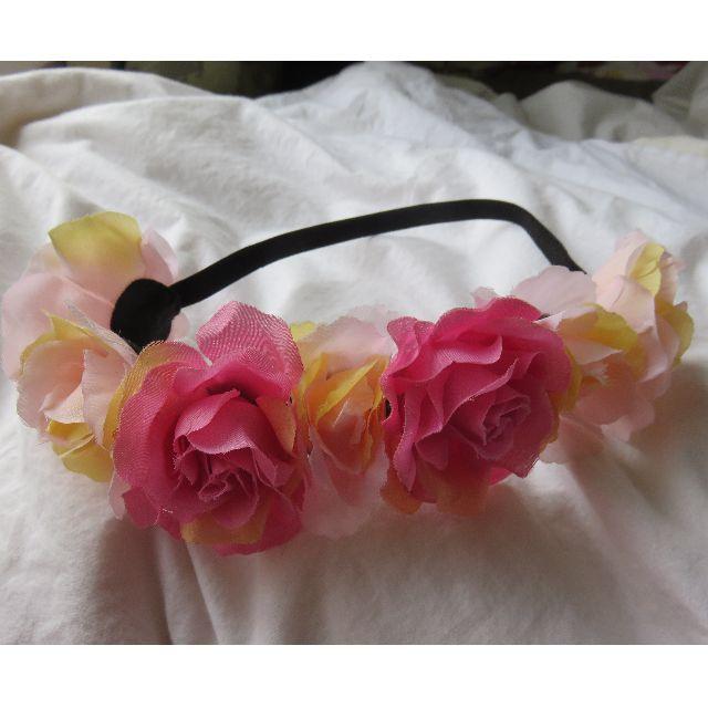 Pink Flower Crown