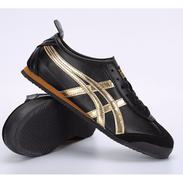 check out f20b5 285c0 PO) Onitsuka Tiger Mexico 66 BLACK with Gold [Limited ...