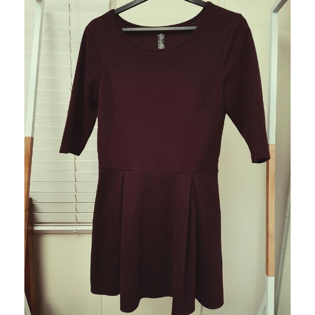 Purple Factorie Dress