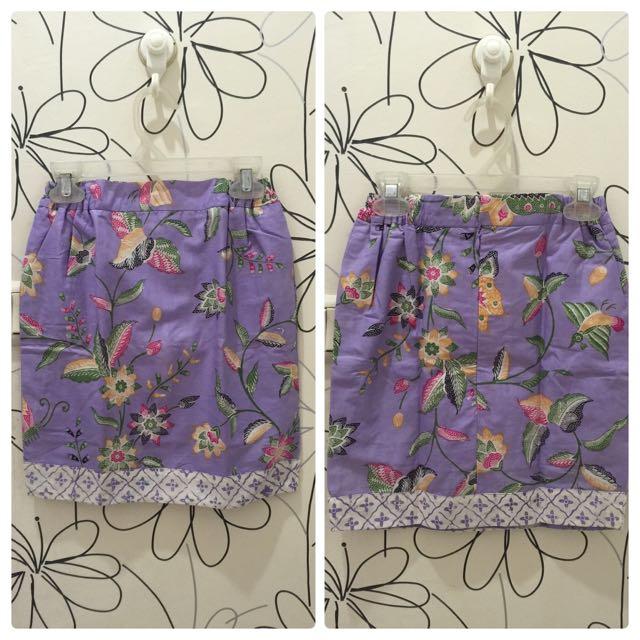 Rok Batik Anak Usia 4-5th