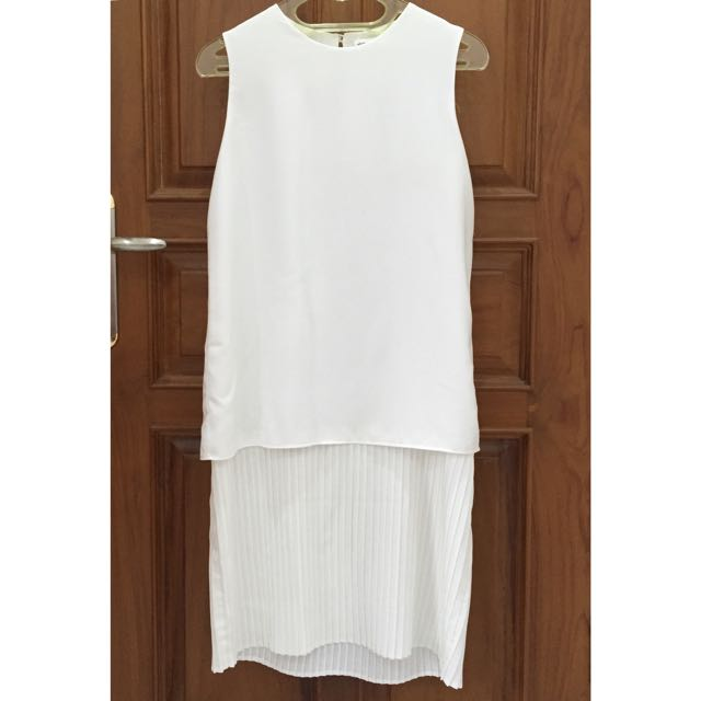 Shopatvelvet Walls Pleated Dress