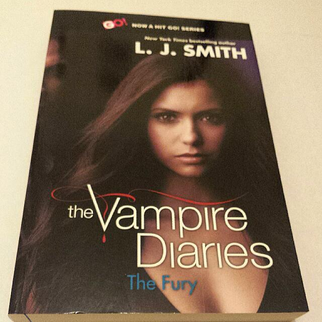 'The Vampire Diaries - The Fury' by L.J. Smith