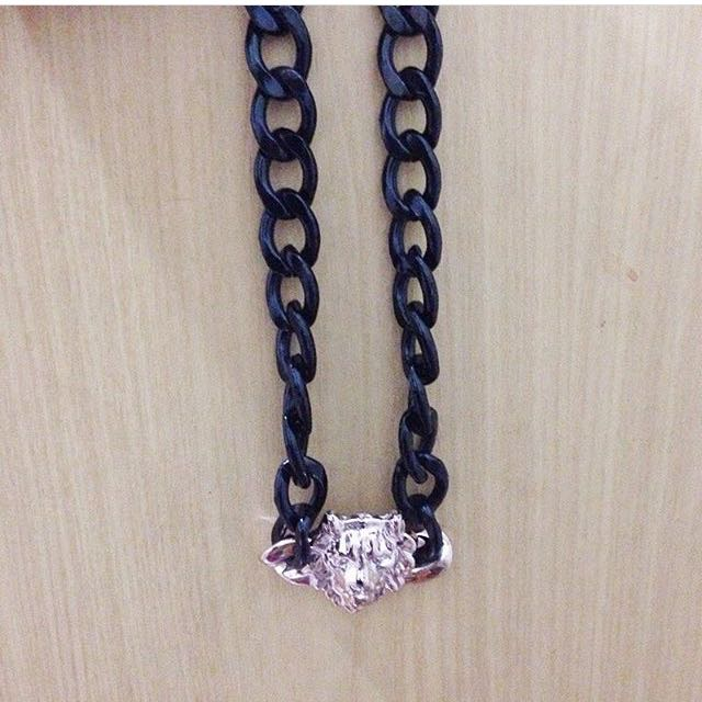 tiger chain necklace