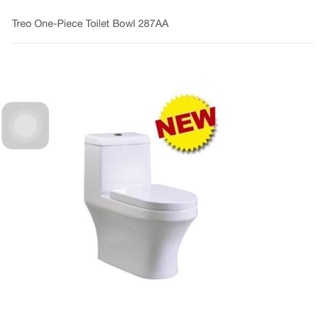 Tremendous Treo One Piece Toilet Bowl 287 Furniture On Carousell Onthecornerstone Fun Painted Chair Ideas Images Onthecornerstoneorg