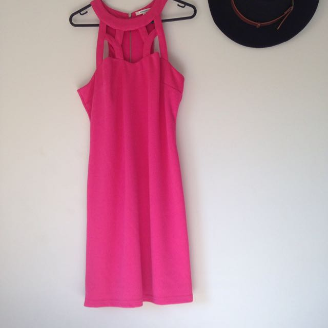 Valley Girl Pink Dress
