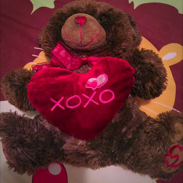 XOXO Teddy Bear