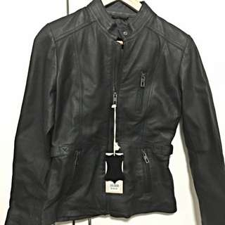 Crossroads Leather Jacket Size 8