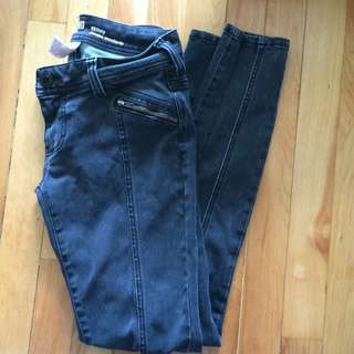 Black Jeans Skinny Stretch