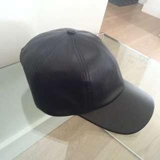 Aritzia Faux Leather Hat