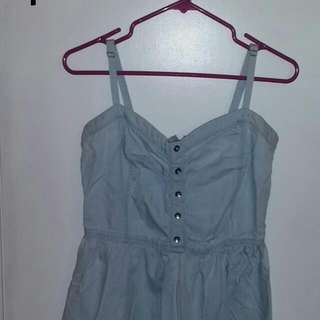 H&M Denim Dress (Large)