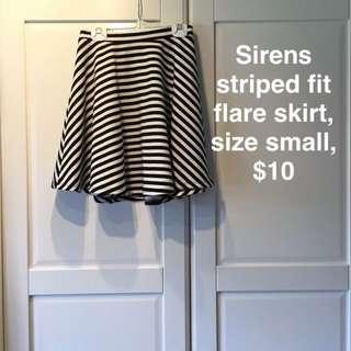 Striped Skirt